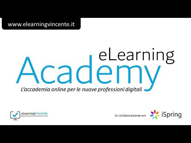 eLearning Academy: finalmente la formazione online é nelle tue mani!