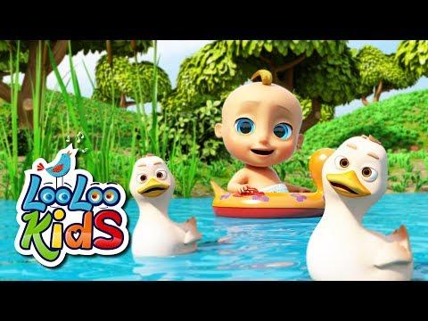 Five Little Ducks - THE BEST Educational Songs for Children   LooLoo Kids