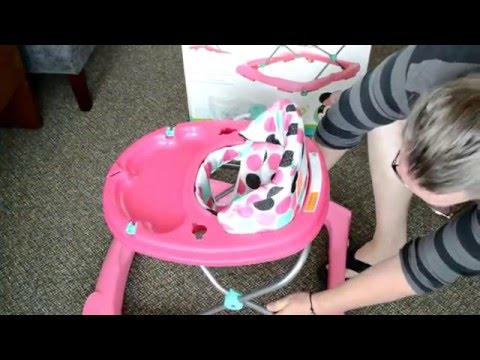 Disney Baby: Minnie Mouse Music & Lights Walker: Unbox, Assembly, Review