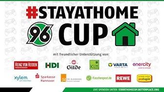 RE-LIVE | Der #StayAtHomeCup - das FIFA-Online-Turnier für den guten Zweck