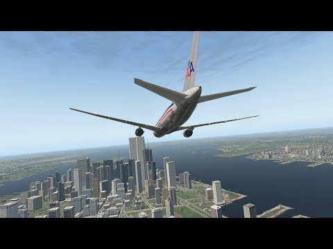 XP11 - 9/11 - The North Tower Strike (American Airlines Flight 11)