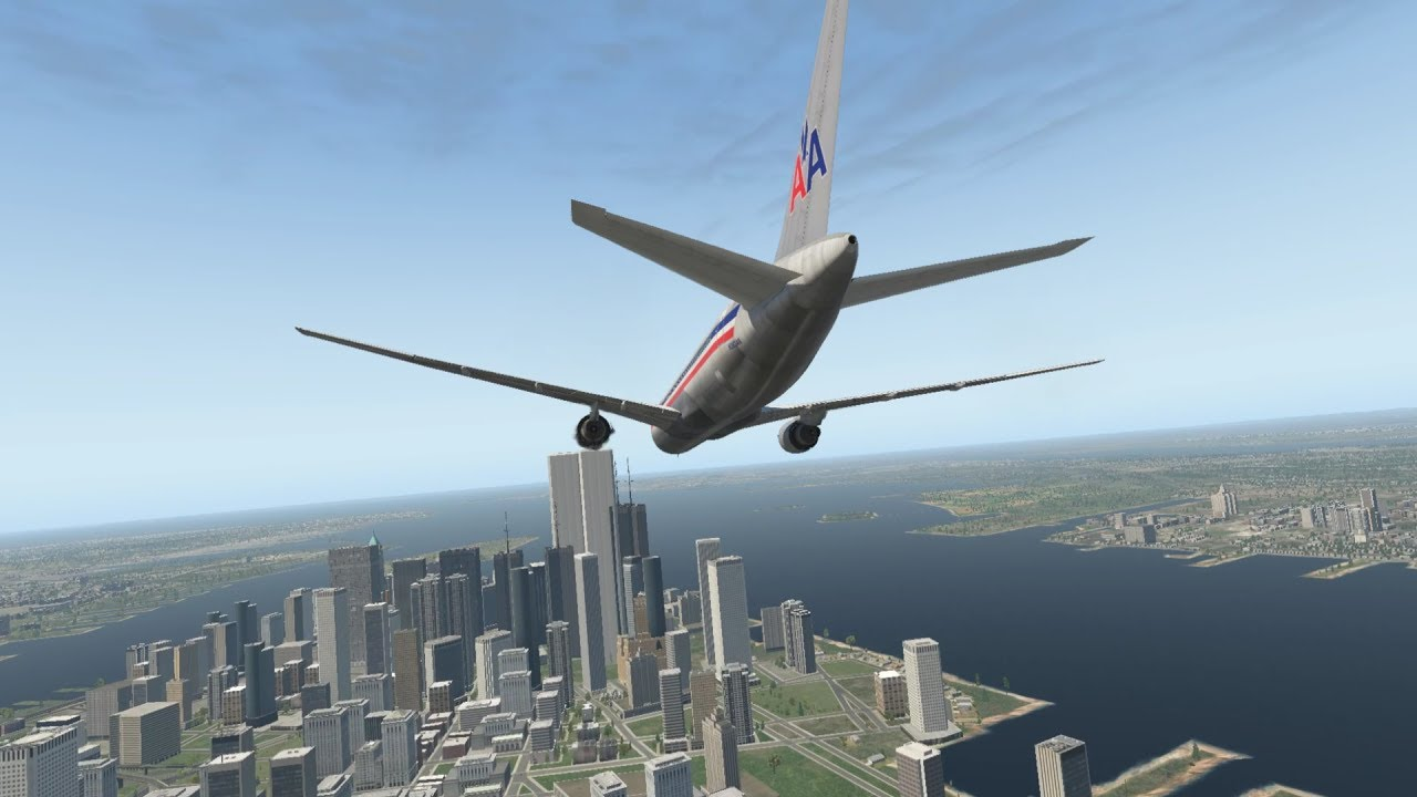 9 11 The North Tower Strike American Airlines Flight