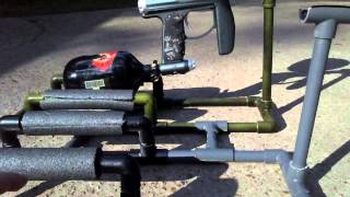 How To:paintball Gun Stand