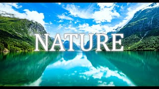 【4K】Nature from a drone Ambient Film + Spectacular music Study,Yoga,Sleep,Reading