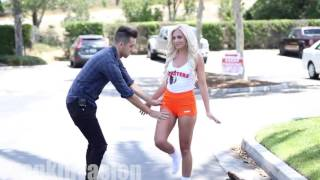 Kissing Prank with strangers!!