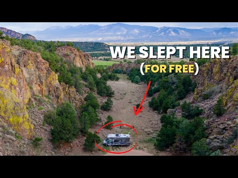RV Camping In Colorado | Incredible Boondocking Near Salida & Buena Vista