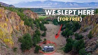 RV Camping in C๐lorado | Incredible Boondocking Near Salida & Buena Vista
