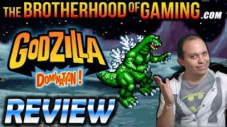 GODZILLA: DOMINATION! - REVIEW - The Brotherhood of Gaming