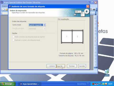 How to use Bar Code Printer T-300E using Bartender Ultr ...