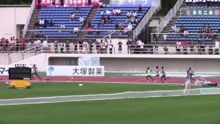 2017 山形インターハイ陸上 女子1500m決勝
