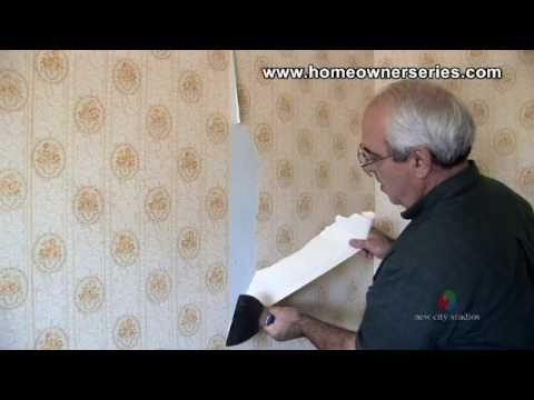 how to remove wall paper drywall repair youtube. Black Bedroom Furniture Sets. Home Design Ideas