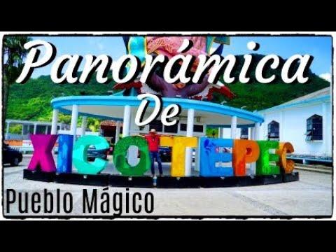 PANORÁMICA DE XICOTEPEC DE JUÁREZ PUEBLA, MÉXICO  PUEBLO MÁGICO.