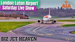 London Luton Airport Live Show | Aircraft Landing And Take Off [2020]
