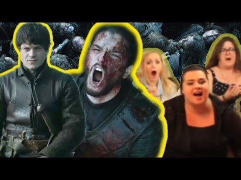 Game of Thrones Reaction Video | Battle of the Bastards S6E9  | Live Stream Watch Party