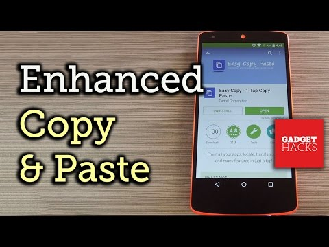 Enhance Androids Copy Paste Functions How