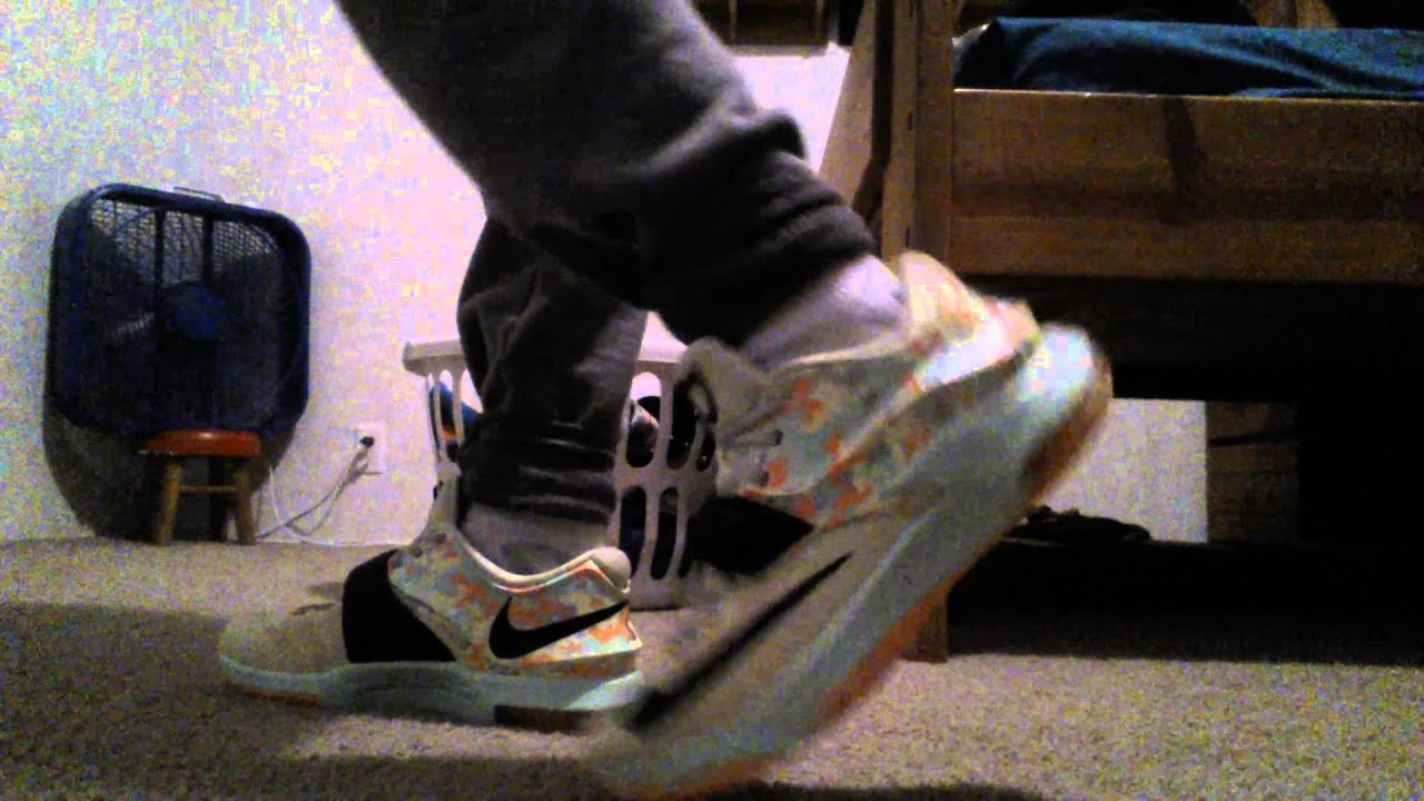 sports shoes 751a2 4183b Sneaker Posts on Twitter Kd 7 easter on feet nike ...