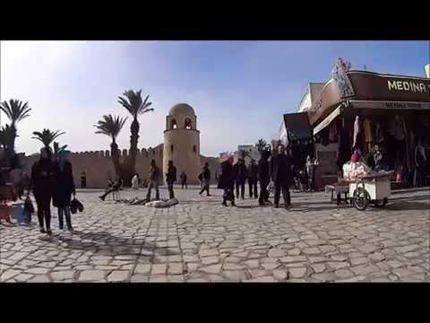 the Medina of Sousse /MEDINA DE SOUSSE DE LA PLACE DES MARTYRS A DAR BAAZIZ