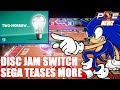 """Nintendo Switch - Disc Jam Dated, SEGA Teases """"Two-Morrow"""" & CyberStep Games Announced!"""