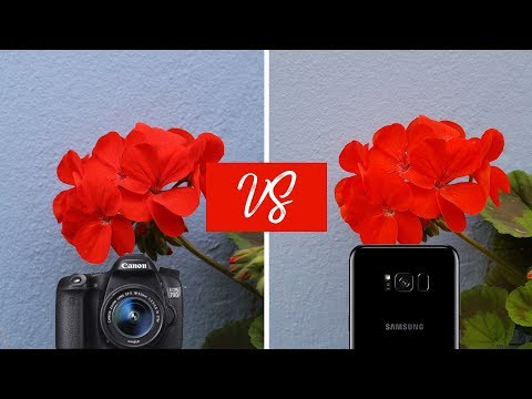 Thumbnail: Galaxy S8 Camera VS DSLR | Canon 70D