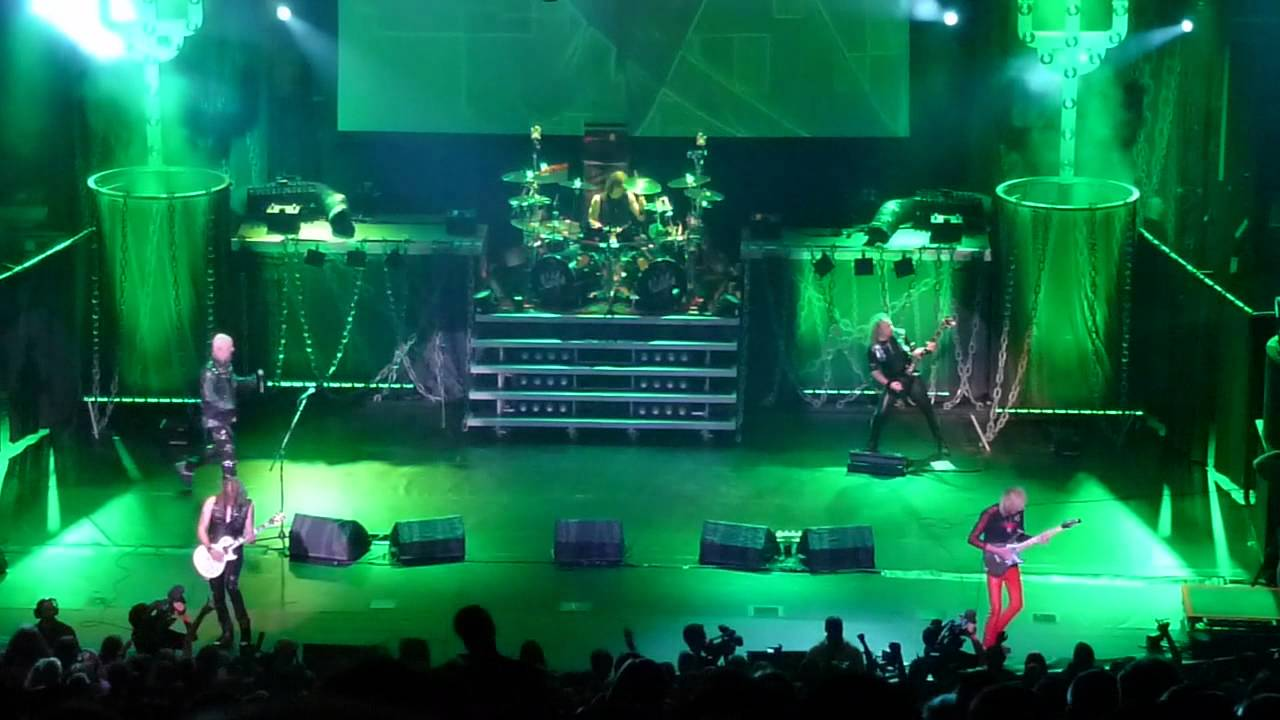 Judas Priest THE GREEN MANALISHI Epitaph Tour Final Show Hammersmith ...