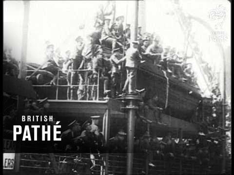 Troop Ship 1914 1918 Youtube