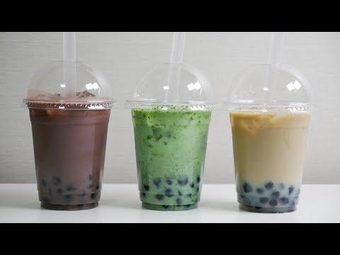 버블티 만들기 (+먹는소리) | 한세 Bubble Tea