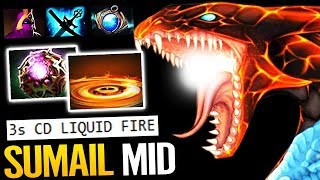 Jakiro is NOT Support!! SUMAIL New Mid Magical Hero Dota 2