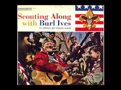 1960s OFFICIAL BOY SCOUTS ALBUM! Featuring Burl Ives - excerpts