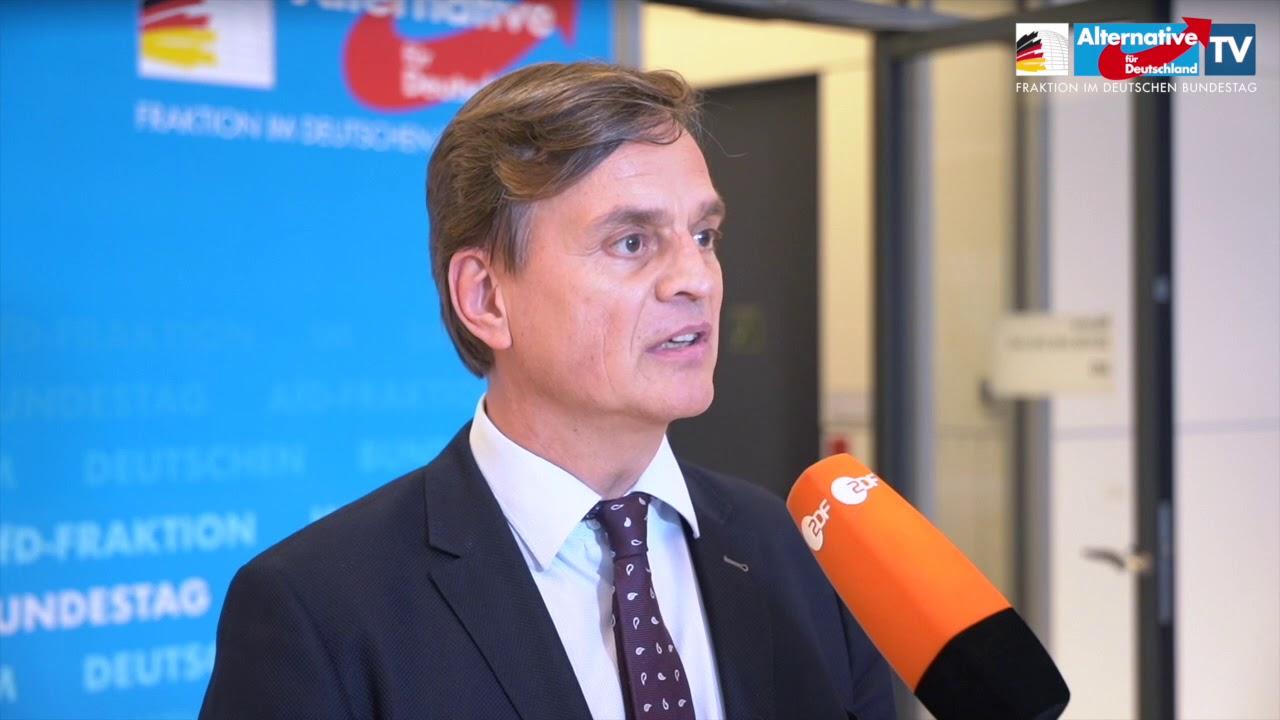 """Bernd Baumann zieht Bilanz zu einem Jahr GroKo: """"Nichts gelöst!"""""""