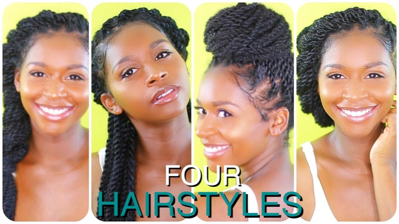 Natural hair | mini/small twist tutorial youtube.