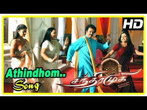 Rajinikanth Tamil Hits 2017 | Chandramukhi Songs | Athinthom Video Song | Rajinikanth | Nayanthara