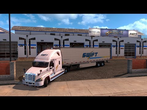 Freightliner Cascadia skin SWIFT TRANSPORT | De Flagstaff a Kayenta, Arizona, EUA