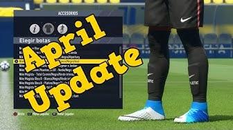 FIFA 17 | New Boots April Update (Unlocked Hidden Boots)