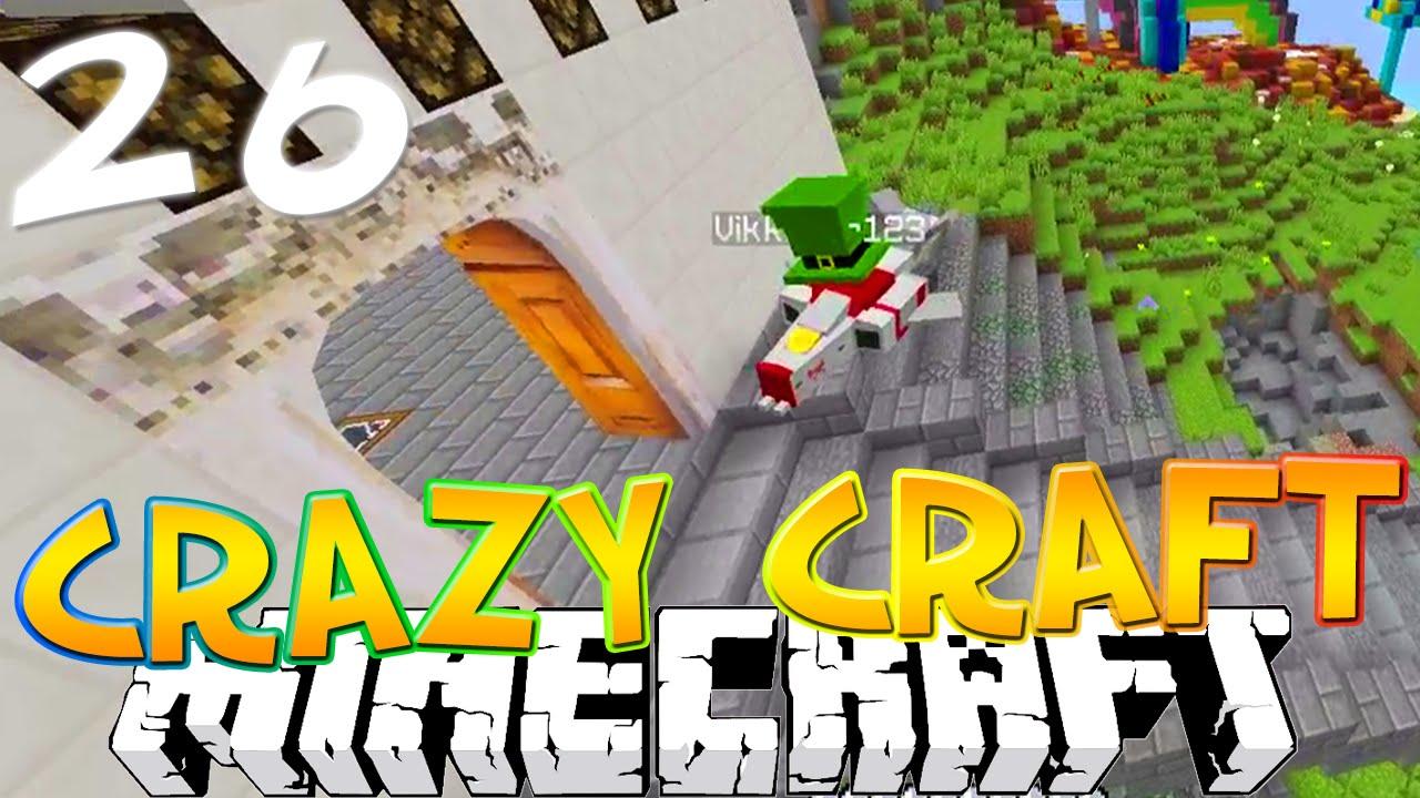 Minecraft crazy craft 3 0 26 quot a flying vikkstar quot crazy craft smp