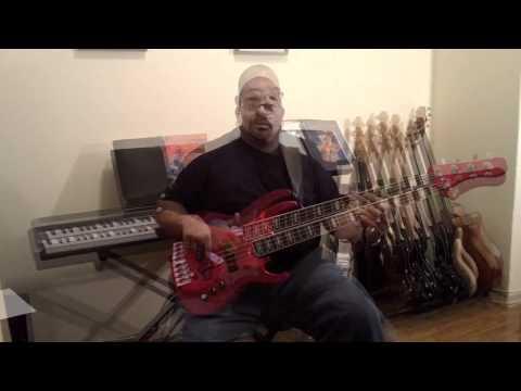 Jason Langley with First Act Custom Shop Bass