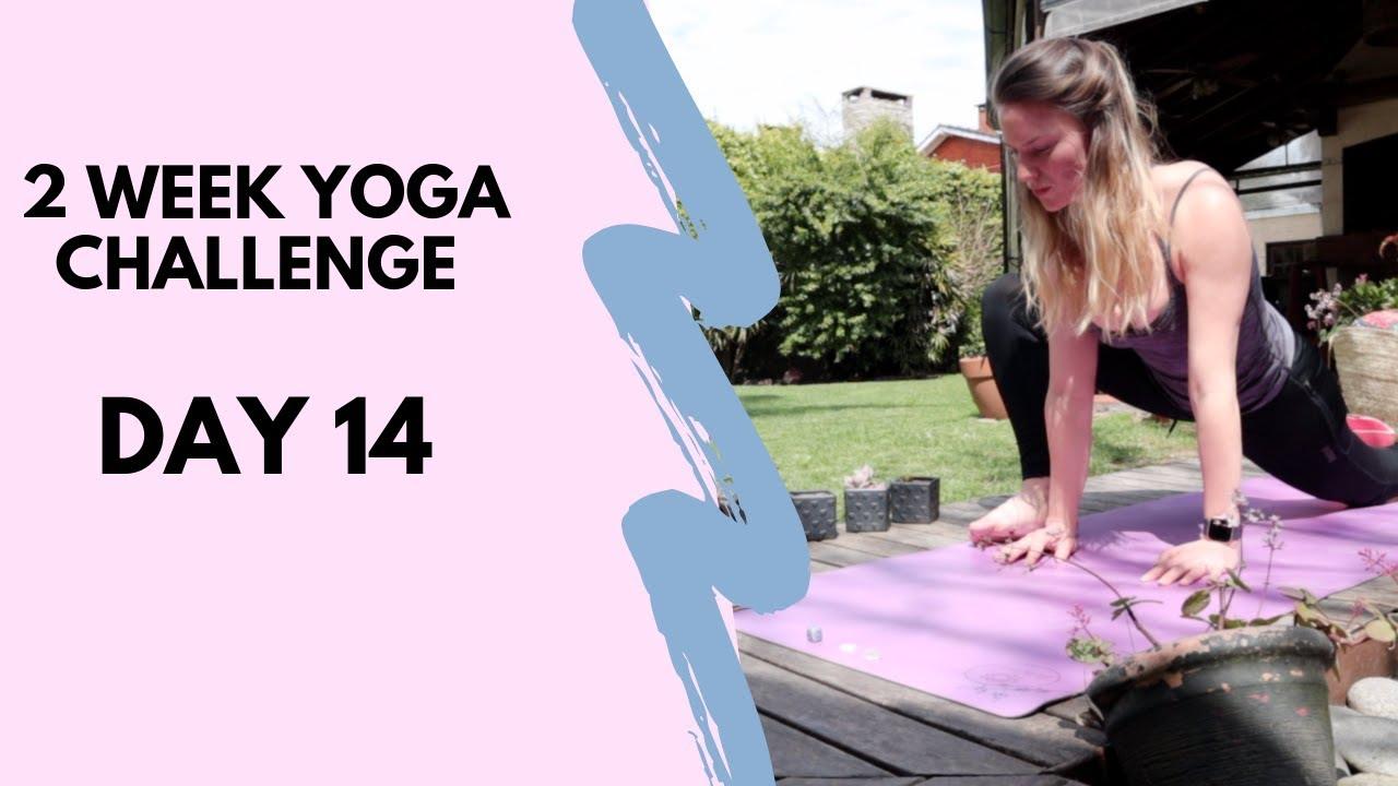 YOGA TO FEEL AMAZING - 2 WEEK YOGA CHALLENGE DAY 14