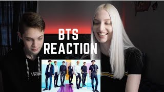 MAKING MY BROTHER REACT TO BTS
