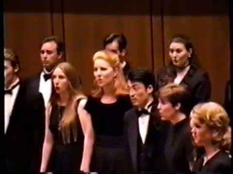 UT Chamber Singers 1996