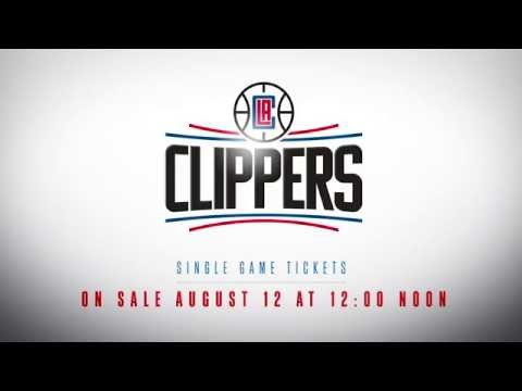 LA Clippers 2016-17 Schedule Release