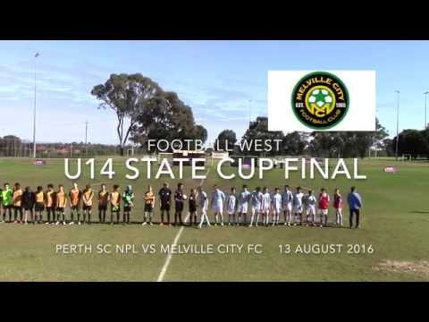 WA U14 State Cup Final Perth SC vs Melville City 13 Aug 2016
