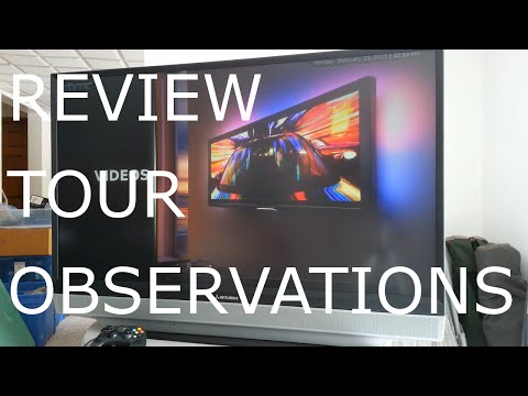 Mitsubishi WD-52531 LCD Projection HDTV Tour and Review