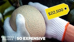 Why Japanese Melons Are So Expensive | So Expensive