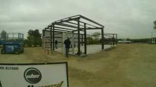 32x60 Erected Pre-engineered Steel Building Litchfield Arizona