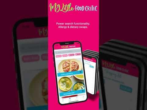 My Little Food Critic App