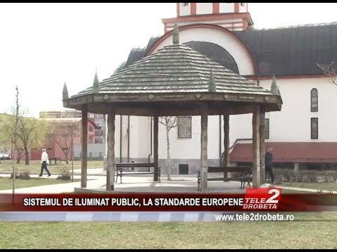 SISTEMUL DE ILUMINAT PUBLIC, LA STANDARDE EUROPENE