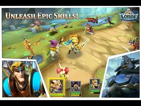 Lords Mobile Fight Scene 6-14 Gameplay