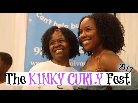 My First Natural Hair Show Recap   The Kinky Curly Fest