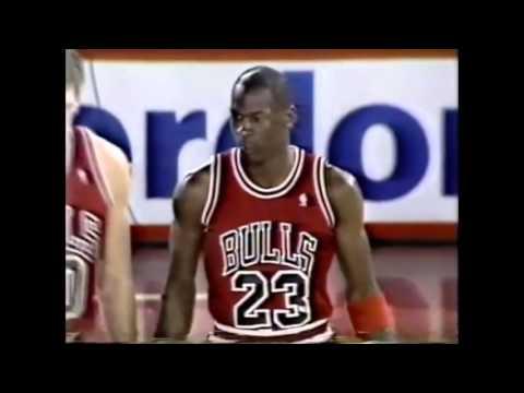 Michael Jordan Defense on Adrian Dantley 1988 NBA ECSF