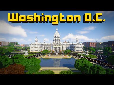 Cooper Caspian plays Washington D.C. | Minecraft Education | Lifeboat Network
