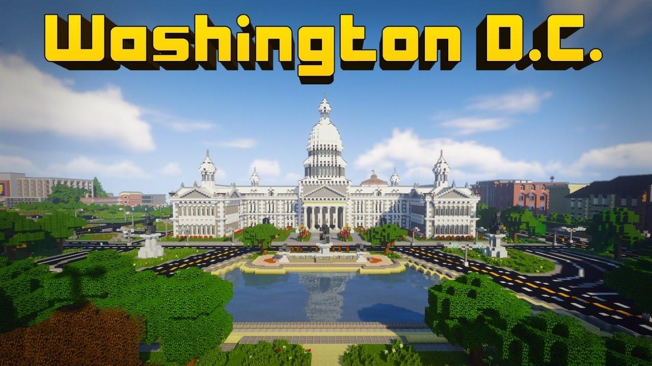 Cooper Caspian plays Washington D.C. | Minecraft Education | 202DC